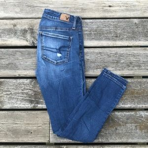 American Eagle Distressed Jeggings